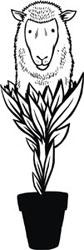 Logo Oveja Vegetal